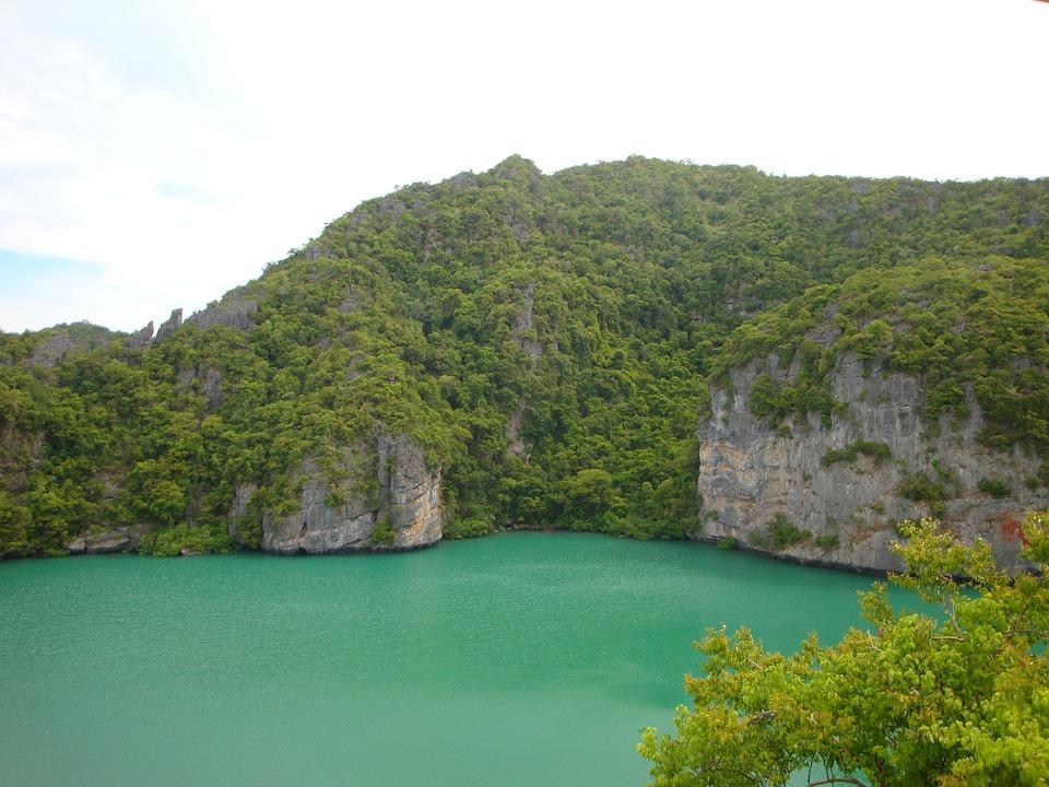 Lagoon, Sea, Water, Holiday, Summer, Nature, View