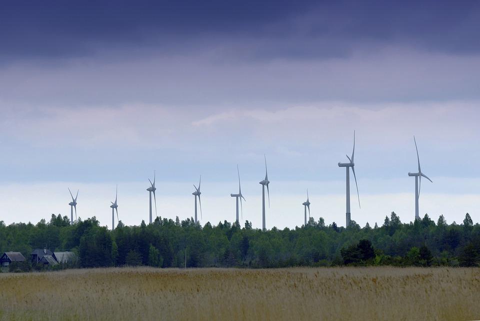 Wind Power, Sky, Windmill, Countryside, Summer, Field
