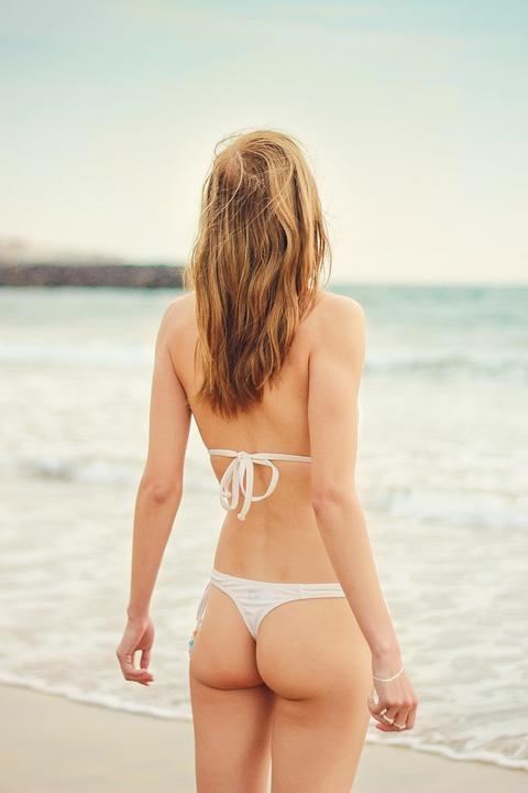 Summer, Woman, Young Woman, Bikini, Holiday