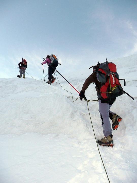 Mountain, Snow, Hiking, Winter, Alps, Nature, Summit