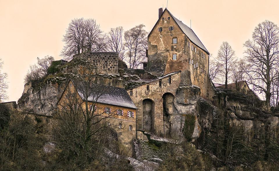Summit Castle, Castle, Pottenstein, Middle Ages
