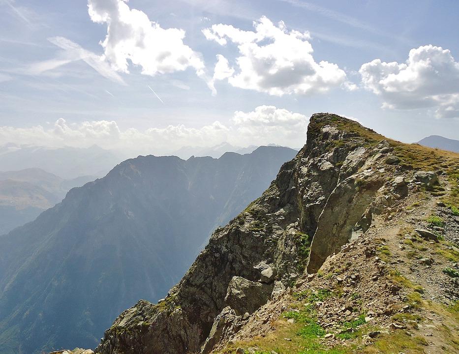 Summit, Pointe, Alps, Landscape, Nature, Hiking
