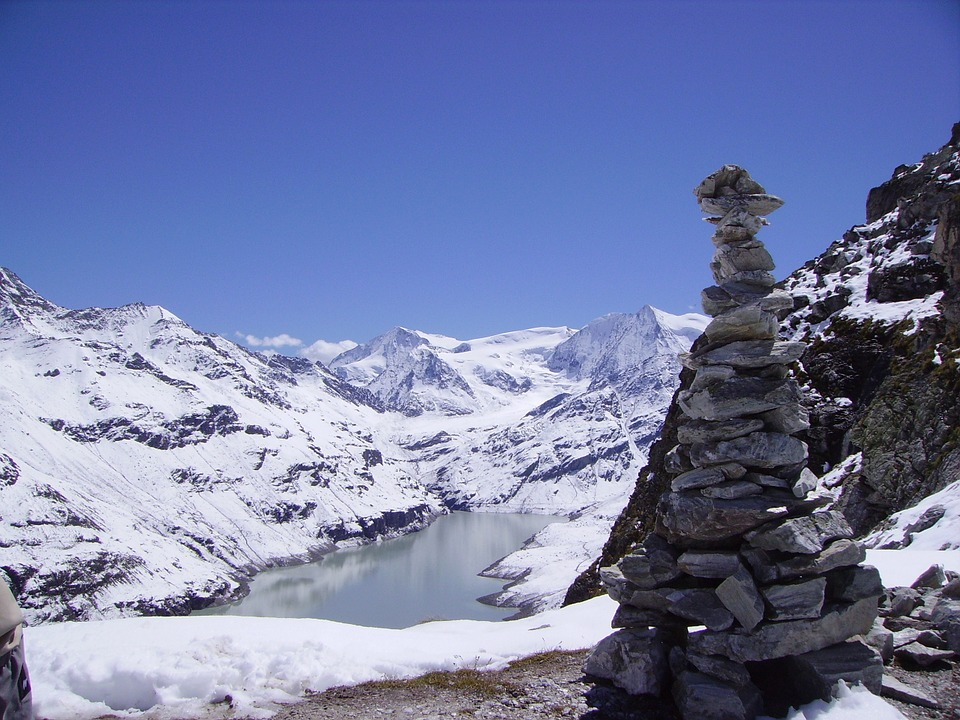 Kern, Mountain, Lake, Snow, Summit, Switzerland, Hiking