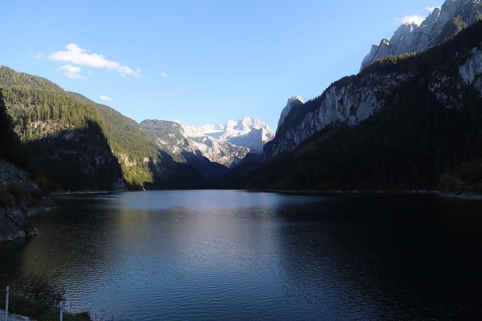 Mountain, Summit, Lake