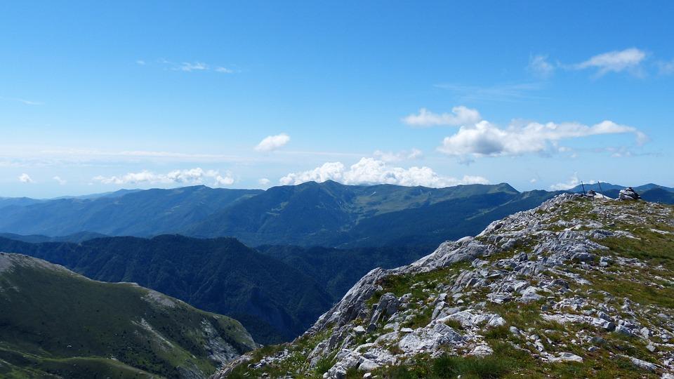Mountains, Cima Della Saline, Mountain, Summit