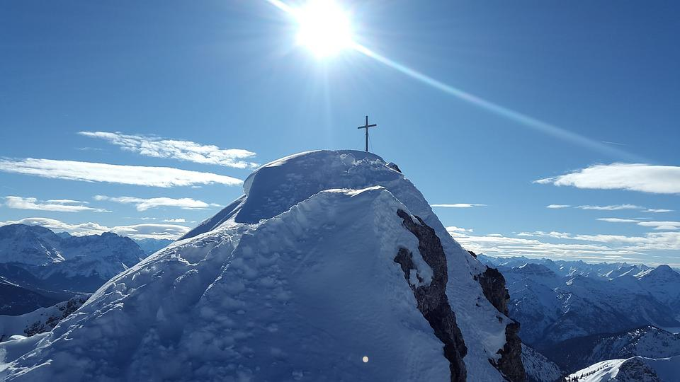 Summit, Summit Cross, Snow, Nature, Mountain, Winter
