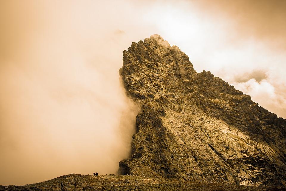 Landscape, Mountains, Summit, Peak, Rocks