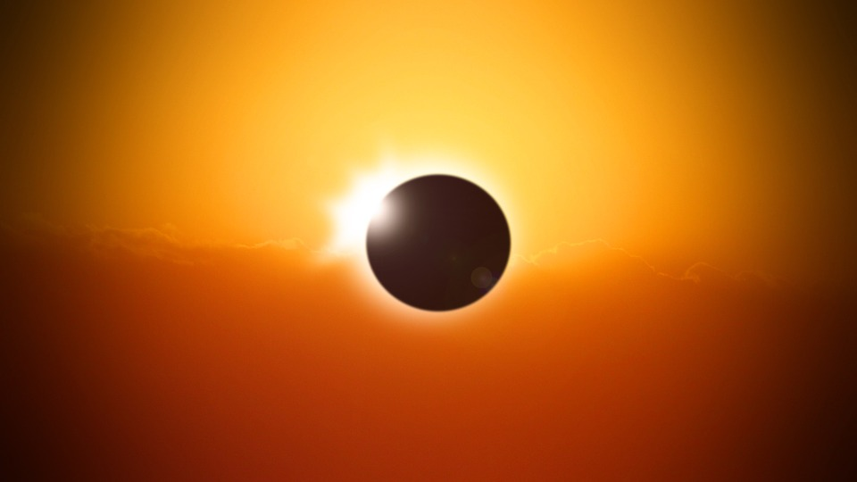Solar Eclipse, Eclipse, Sun, Sky, Moon, Astronomy