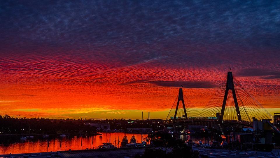 West Sun, Australia, Sydney, Pyrmont, Sun, Heaven