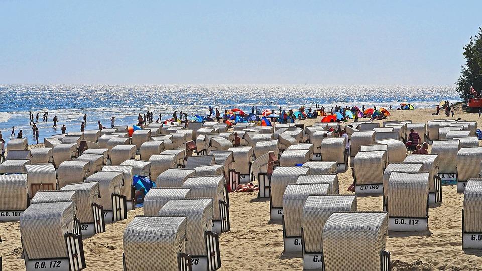 Beach Life, Baltic Sea, Summer, Sun