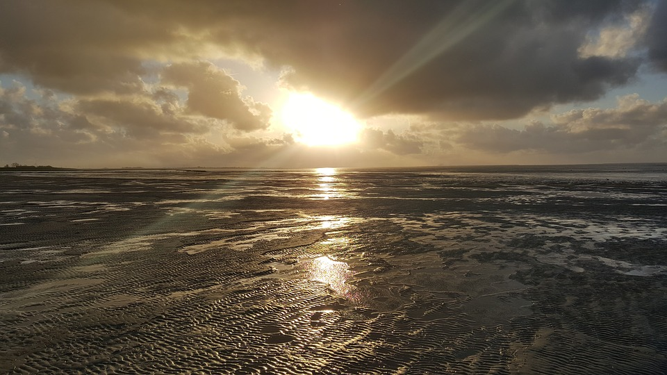 North Sea, Sun, Beach