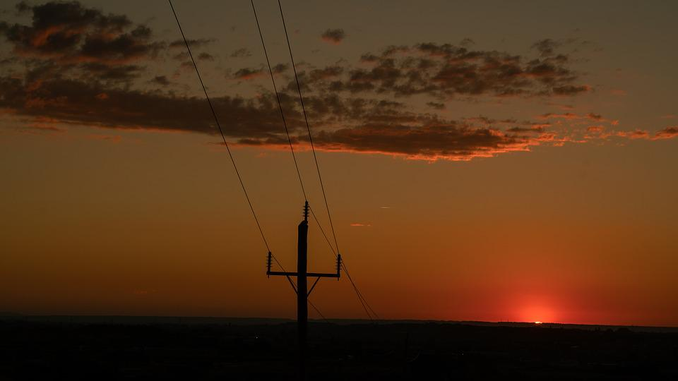 Sky, Sun, Clouds, Electricity, Twilight