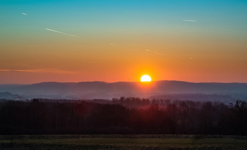 Sunset, Dawn, Dusk, Evening, Sun, Nature, Sky