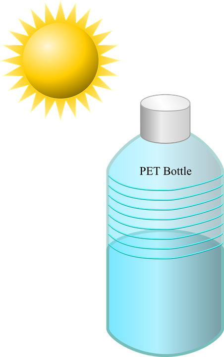 Bottle, Disinfection, Solar, Sun, Water, Pet, Suncream