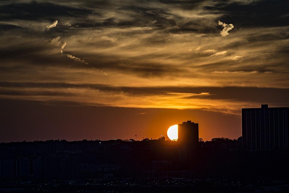 Sunset, Dawn, Dusk, Evening, Sun, Sky, Nature, Outdoors
