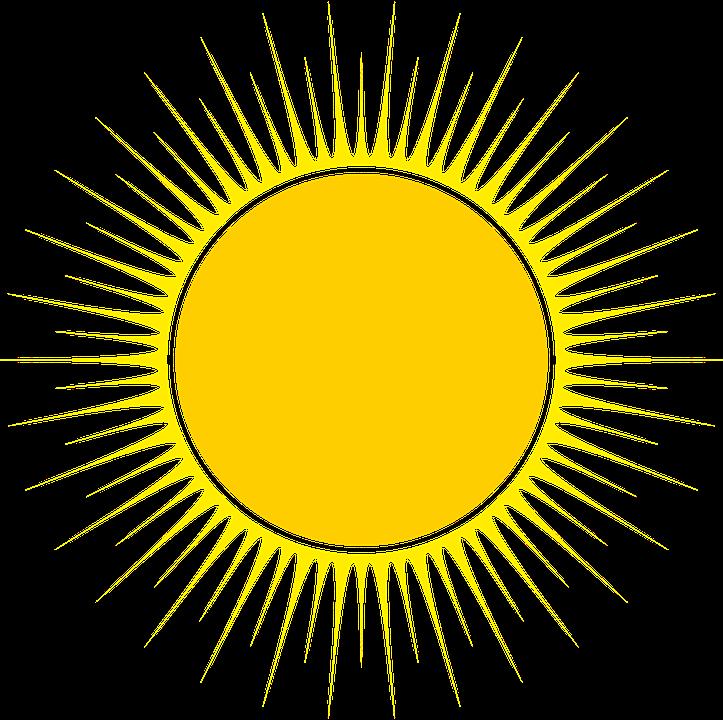 Sun, Vector, Illustration, Free Image, Astro, Energy