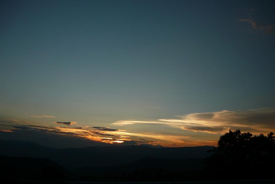 Colombia, Landscape, Sunset, Nature, Clouds, Sky, Sun