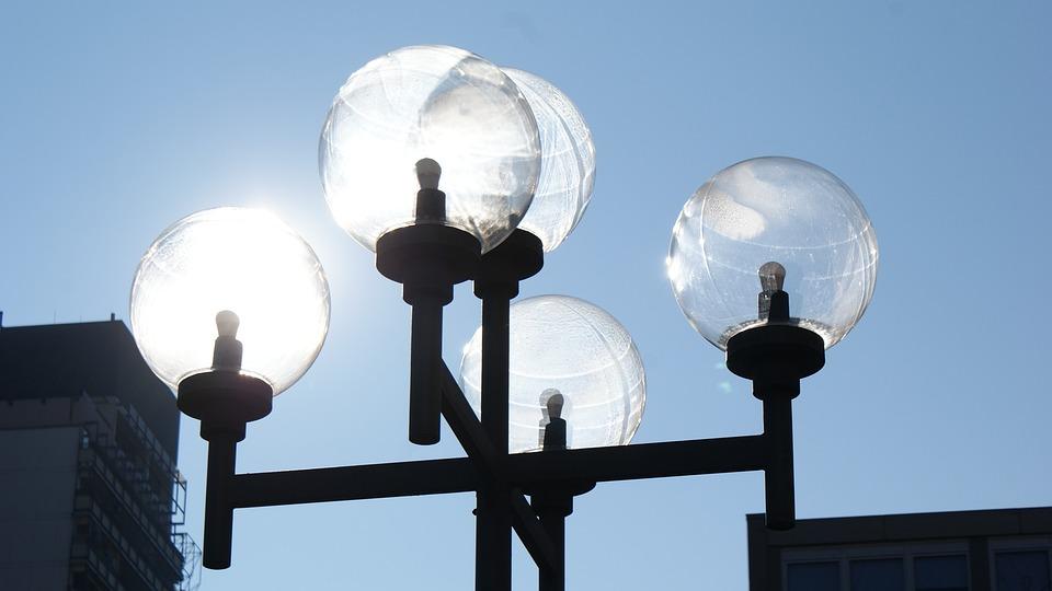 Sun, Mirroring, Reflexes, Lantern, Lighting