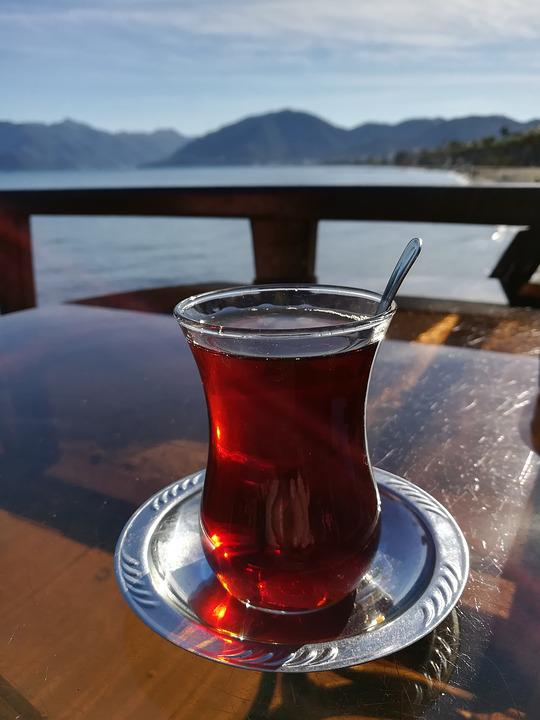 Tee, Water, Sea, Mountains, Turkey, Sun, Chill Out