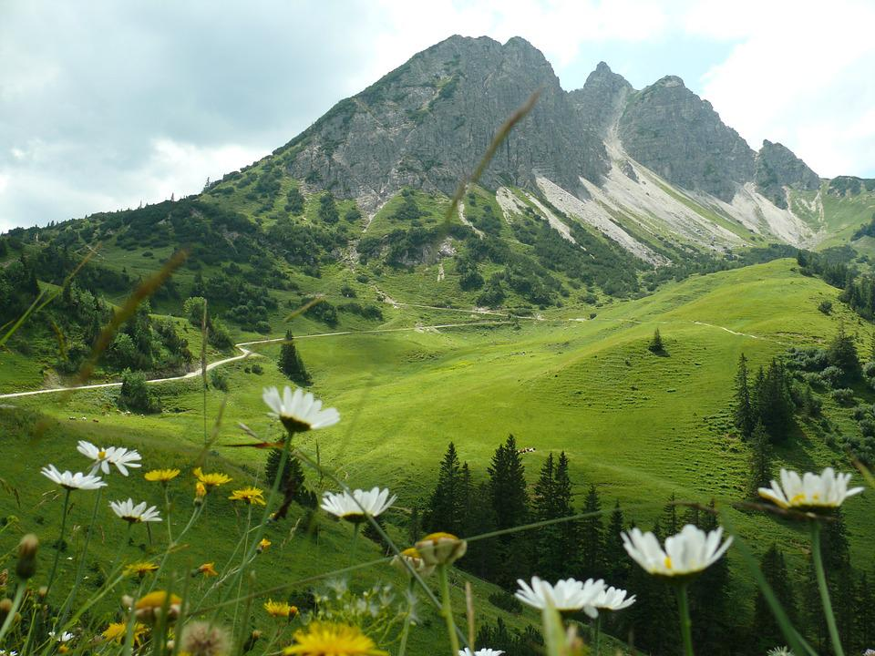 Mountains, Panorama, Hiking, Experience, Wide, Sun