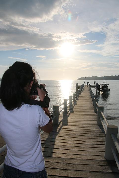 Sunrise, Sun, Beach, Nature, Travel, Morning, Scene