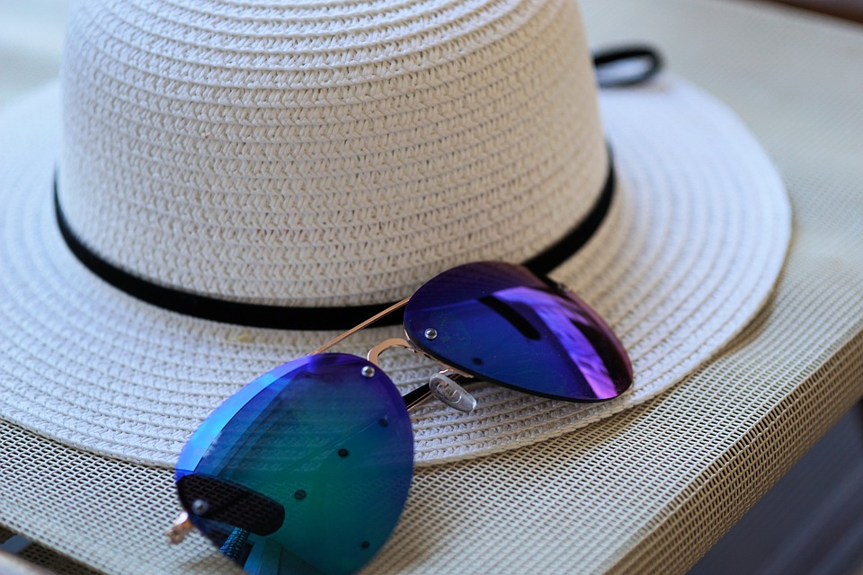Sunglasses, Hat, Sun Hat, Sun Protection, Straw Hat