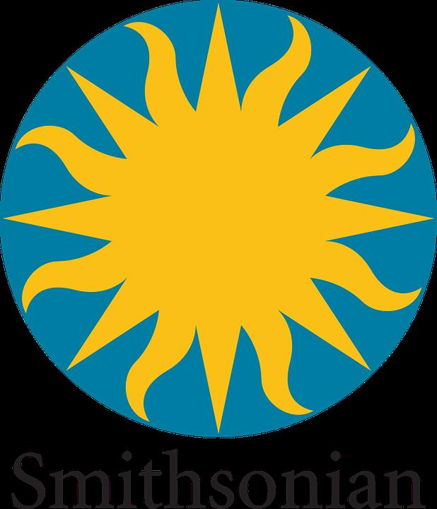Sun, Round, Logo, Rays, Smithsonian