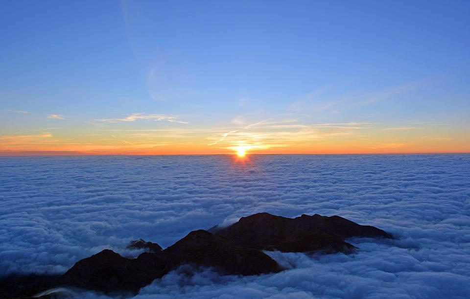Sunrise, Dawn, Sky, Sun, Sun Rise, Clouds, Rising Sun