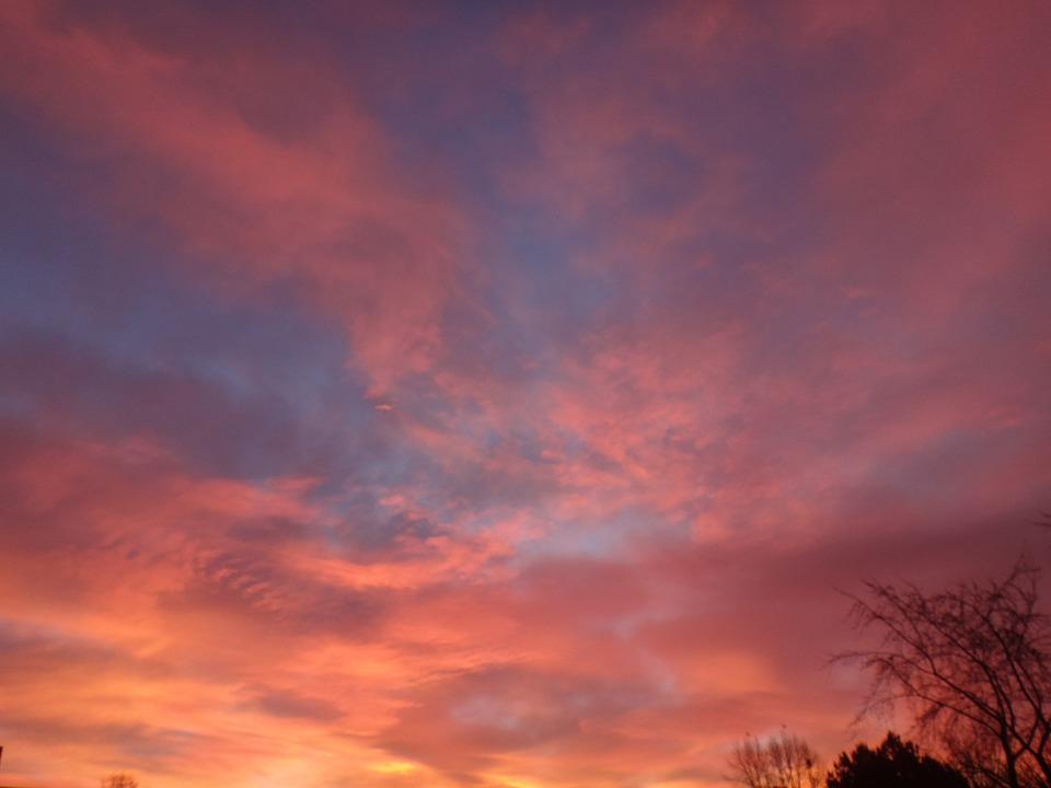 Sun, Romantic, Evening Sky, Abendstimmung