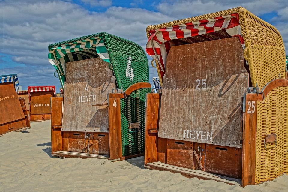 Beach, Sun, Beach Chair, Holiday, Sea