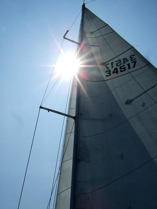 Sailing, Sun, Sea, Sailboat, Summer, Water, Tourism