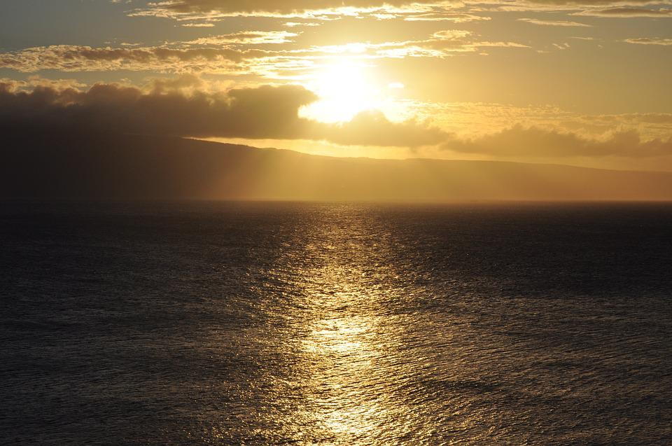 Sunset, Ocean, Water, Sun, Sea, Sky, Nature, Horizon