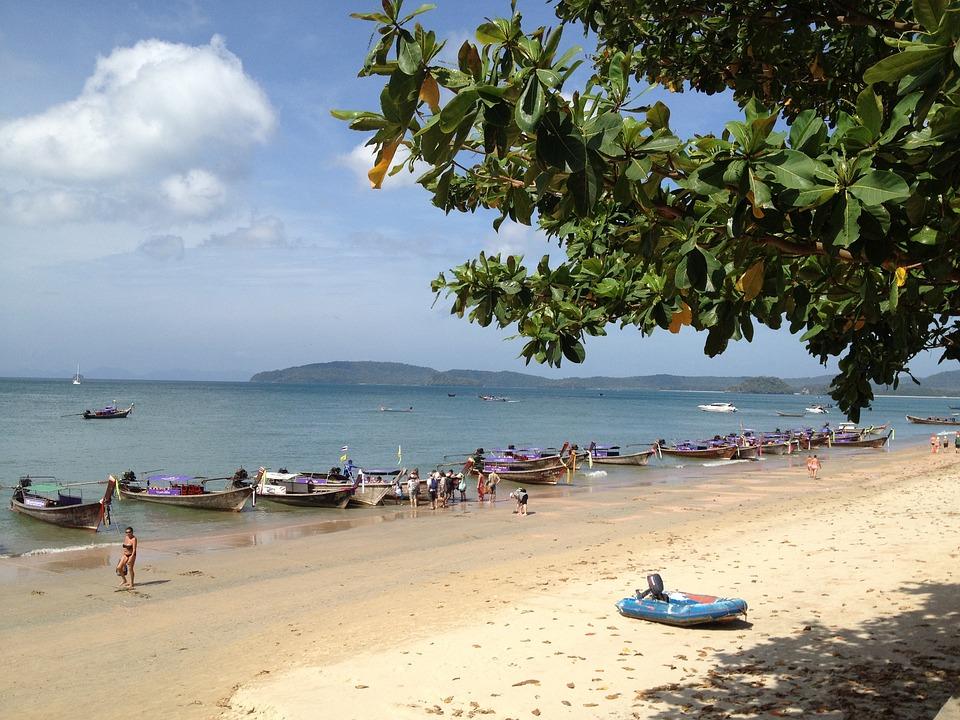 Beach, Thailand, Sea, Water, Romance, Nature, Sun