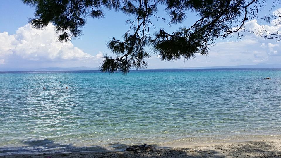 Sea, Sun, Sky, Water, Clouds, Coast, Blue, Summer