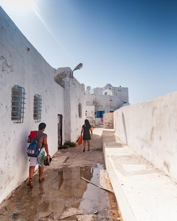Tipaza, Algeria, Africa, Architecture, Summer, Sun, Sky