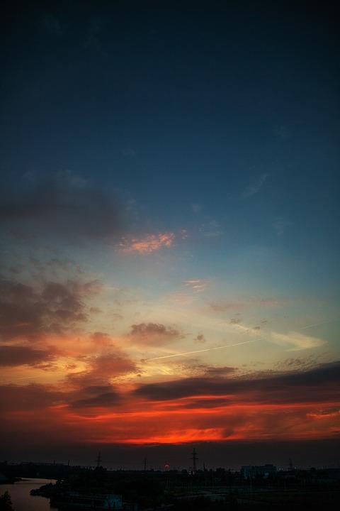 Sky, Sun, Sunset