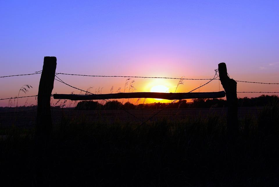 Halstead Kansas Sunset, Sun, Sunset, Sky, Mood