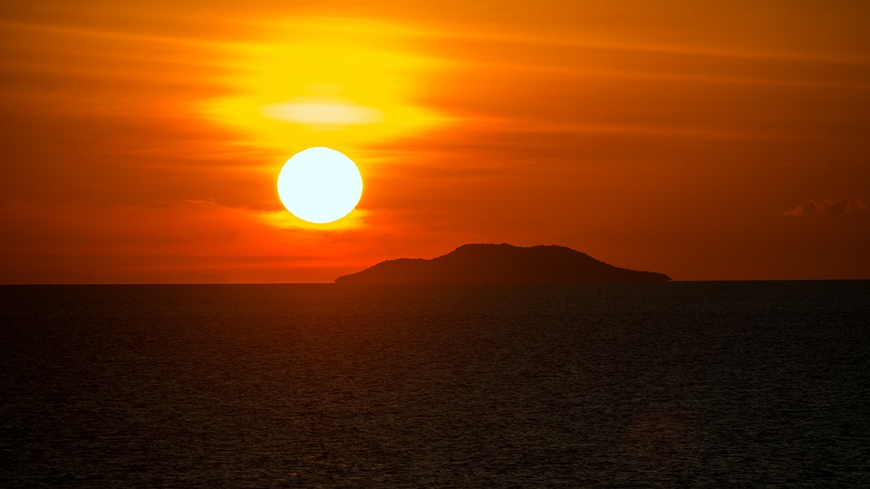 Sunset, Sun, Dawn, Dusk, Sky