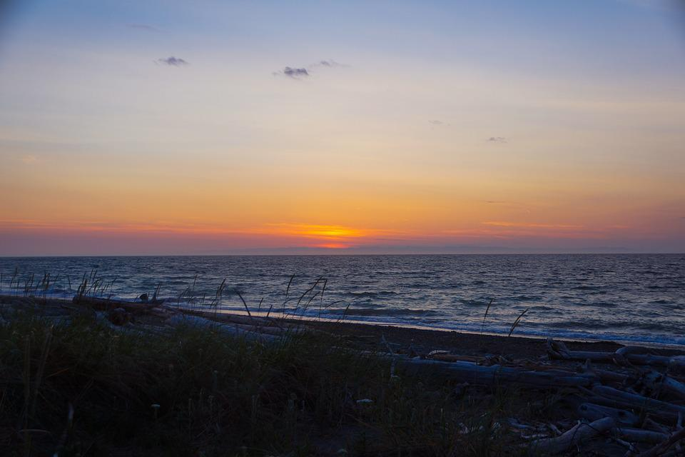 Beach, Sunset, Ocean, Sunset Beach, Water, Sun, Nature