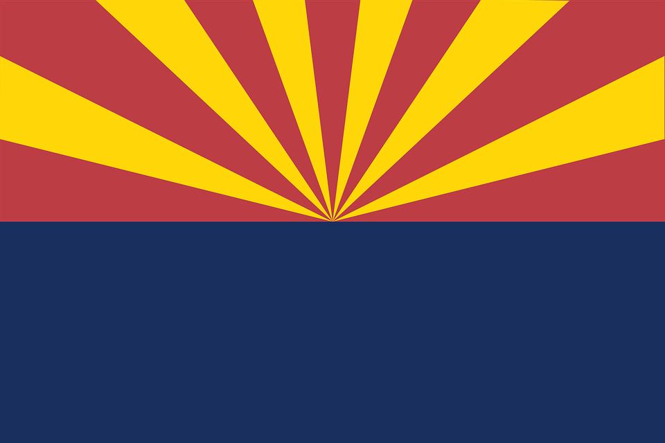 Sunburst, Flag, Arizona, Stripes