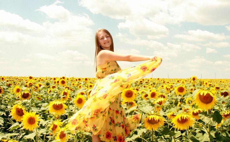 Free photo sunflower dress girl yellow max pixel sunflower girl dress yellow mightylinksfo