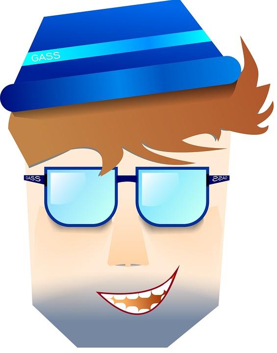 Boy, Summer, Hat, Sunglasses, Face