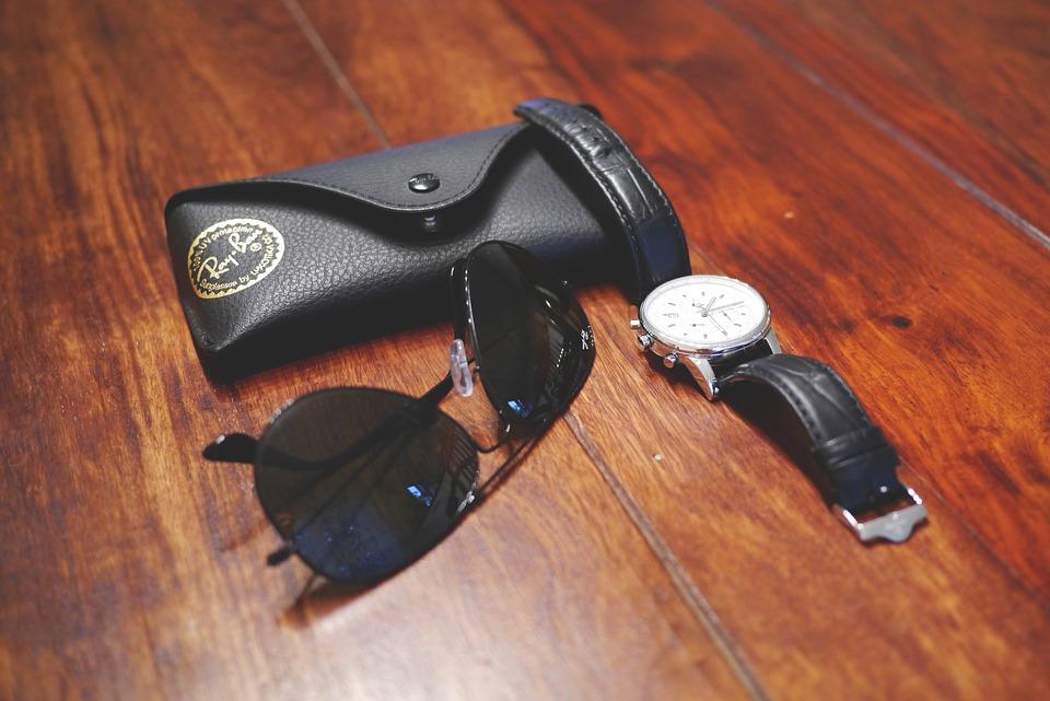 Accessories, Sunglasses, Rayban, Wrist Watch