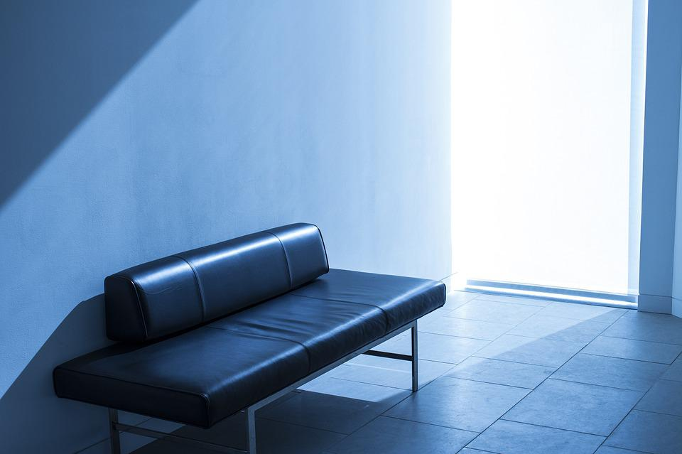 Sunlight, Couch, Sofa, Light, Room, Lobby, Office