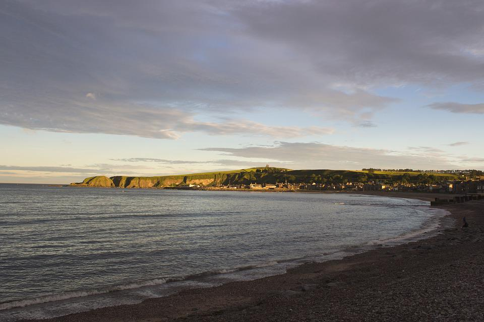 Coast, Fishing, Village, Peaceful, Sunlit, Bay