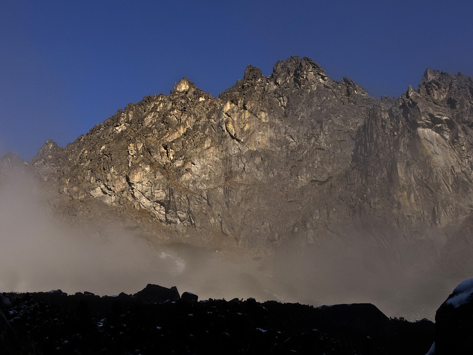 Mountain, Cliff, Sunny, Nature, Fog, Tatra Mountains