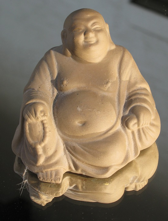 Buddha, Laugh, Sunny, Belly