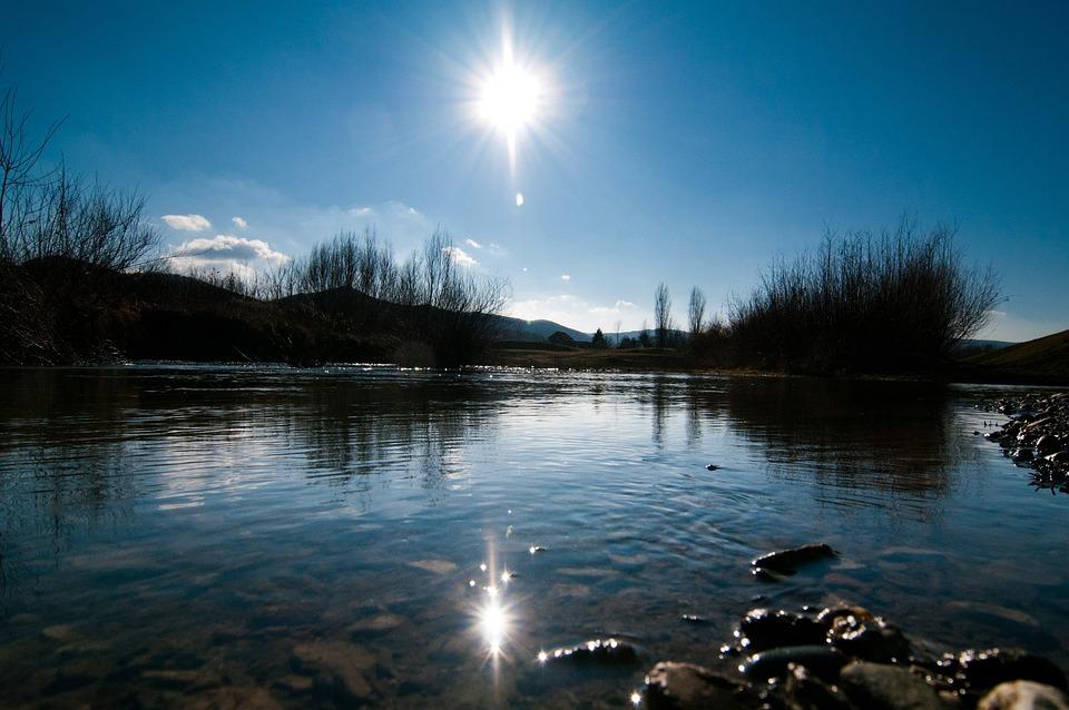 Lake, Wather, Sun, Outdoor, Landscape, Nature, Sunny