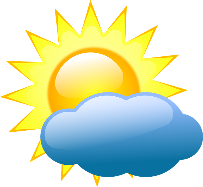Mostly Sunny Day