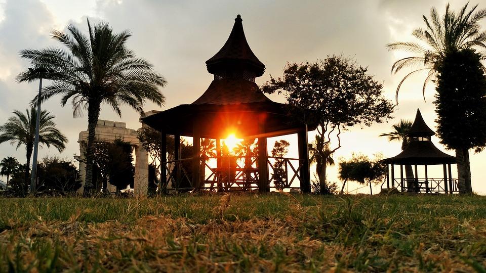Sunrise, Solar, Reverse Light, Travel, Background
